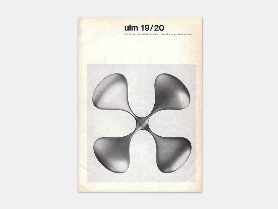 Display | Journal of the Ulm School for Design 19/20 | Collection