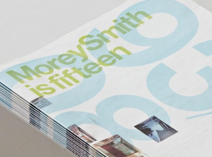 Fifteen newspaper | Cartlidge Levene