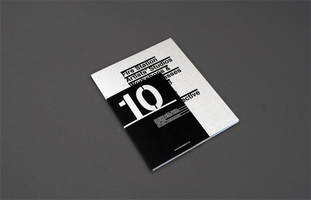 Patrick Mullen Design — Firestation Artists' Studios, Book