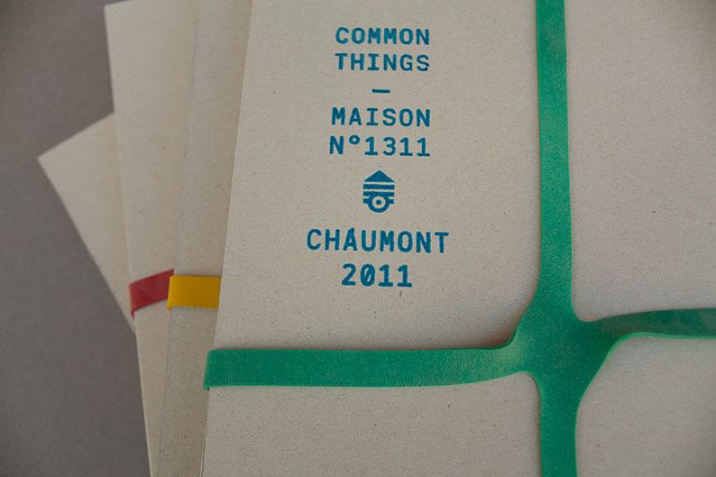 SALON DE L'ÉDITION DU 22E FESTIVAL DE CHAUMONT