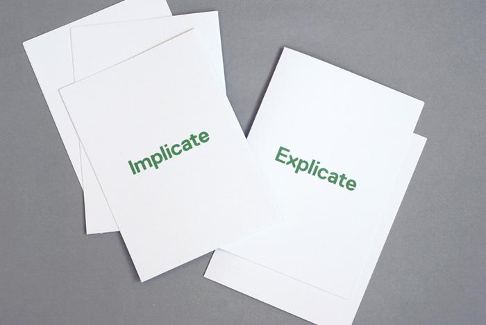 Åh - Implicate Explicate