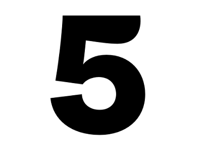 "Dribbble - Founders Grotesk Text ""5"" by Kris Sowersby"