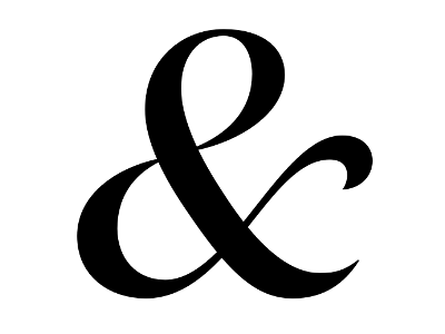 """Dribbble - Domaine Display Italic """"&"""" by Kris Sowersby"""