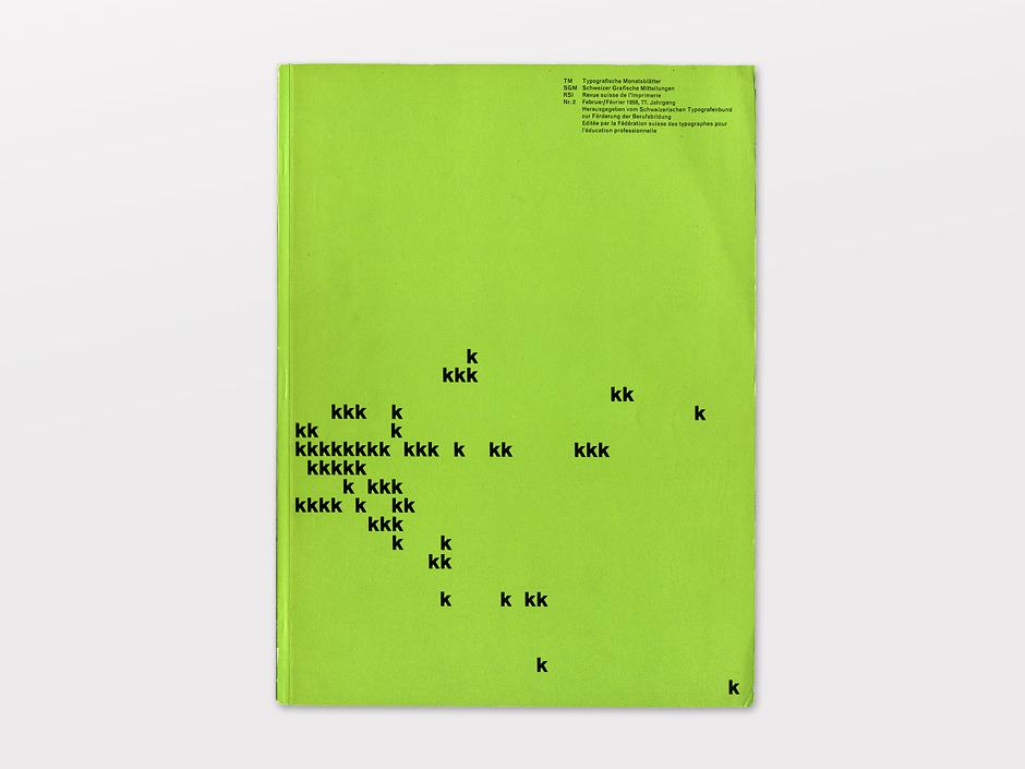 Display | Typographische Monatsblatter 1958 Number 2 February | Collection