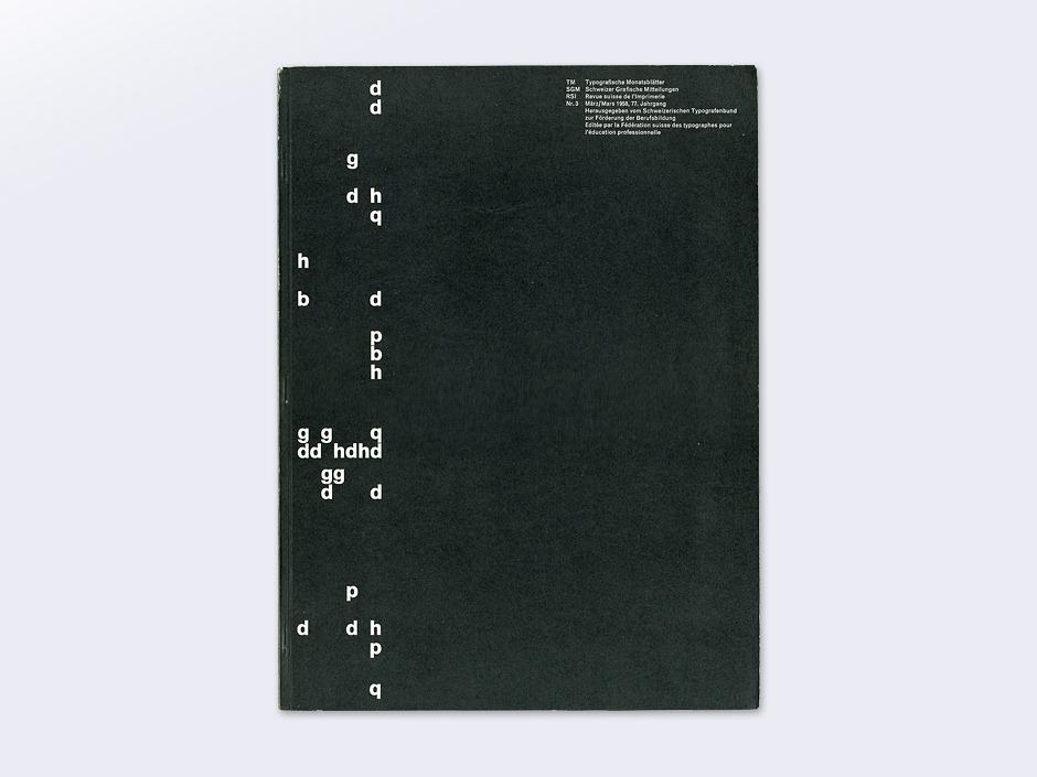 Display | Typographische Monatsblatter 1958 Number 3 March | Collection
