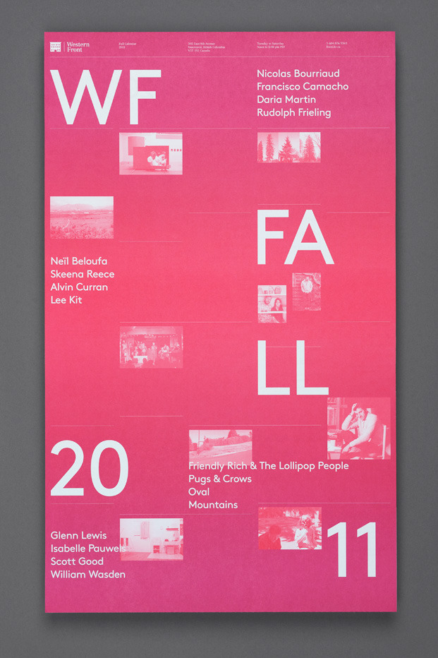 Western Front Fall Calendar : Post Projects