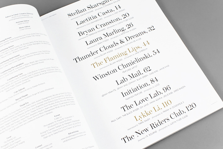 Lab Magazine - Working Format