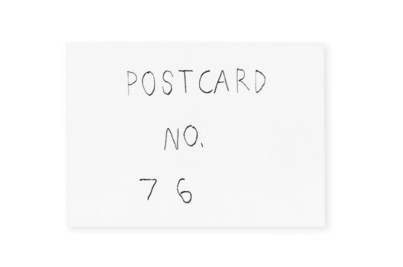 Postcard No. 76 : James Laurie