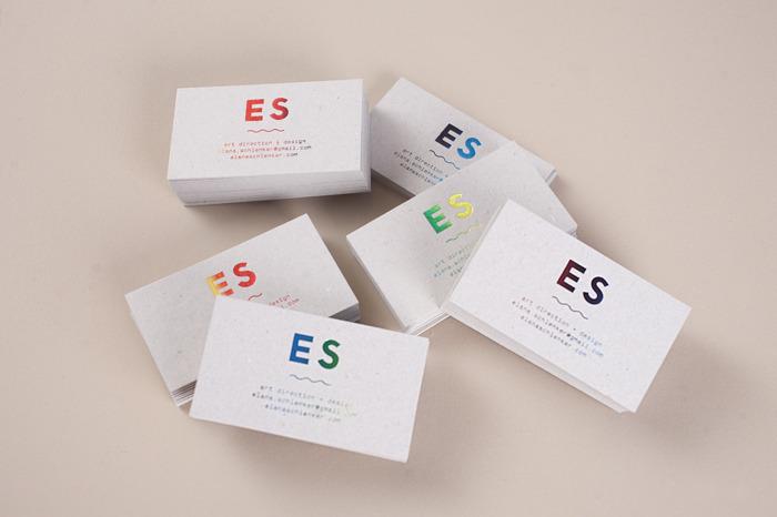 ES Business cards - Elana Schlenker