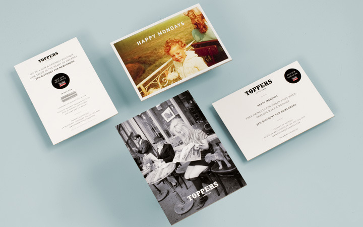 Toppers of Hackney Brand Identity | Branch
