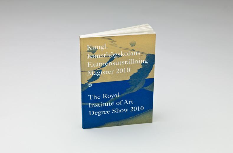 Ritator - Degree Show Catalogue
