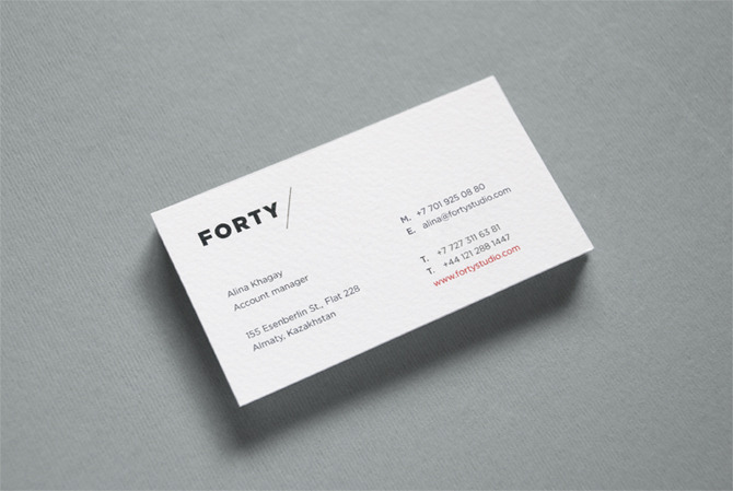 forty — branding - Astronaut