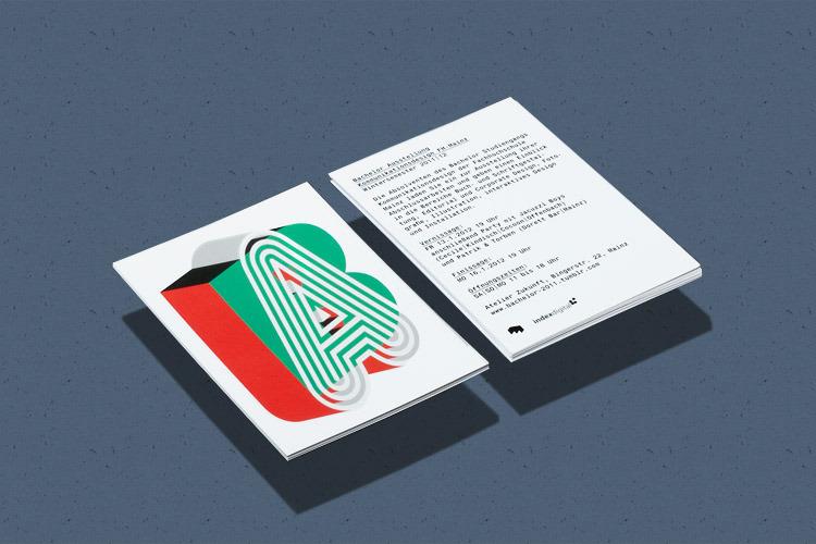 Marcel Häusler Graphics »Bachelor exhibition FH Mainz Communication Design