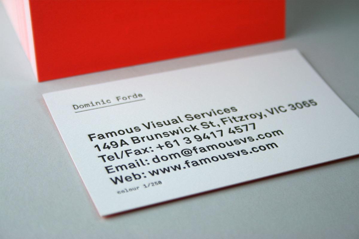 Famous Cards   Famous Visual Services