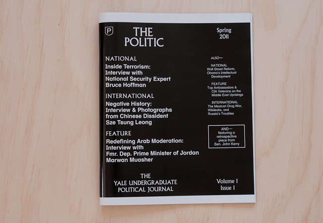 The Politic → Zak Klauck