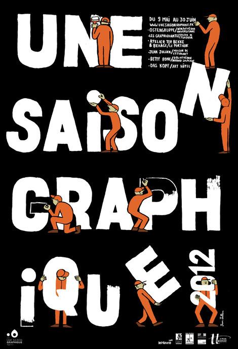 Une Saison Graphique XII ● Jean Jullien