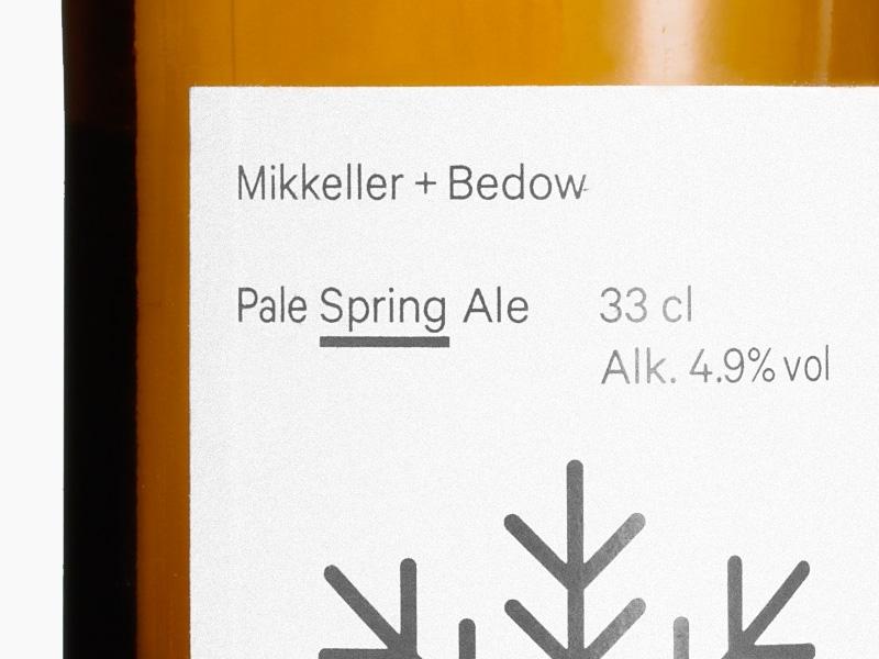 Klim Type Foundry - Mikkeller Pale Spring Ale