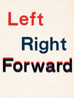 Fraser Muggeridge studio: Goshka Macuga - Left Right Forward, The Guardian 2010