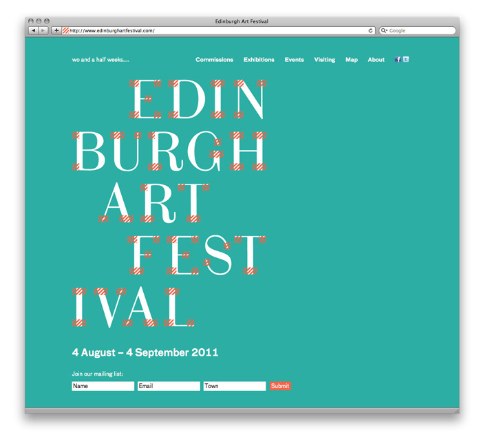 Fraser Muggeridge studio: Websites