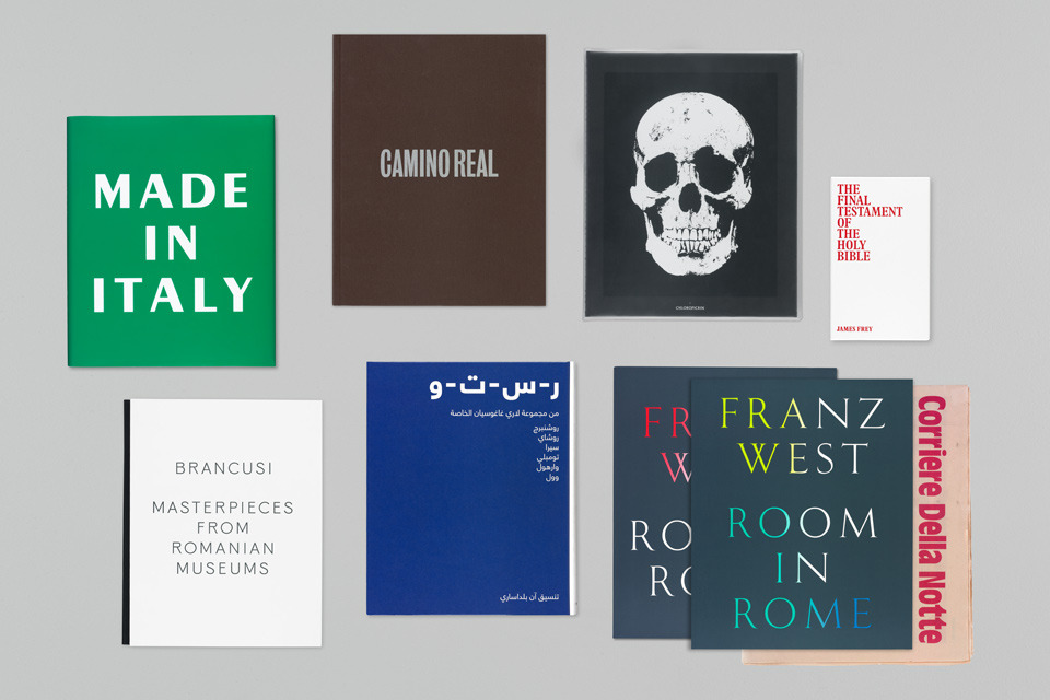 Gagosian Gallery – Catalogues 2012 | Publication | Graphic Thought Facility