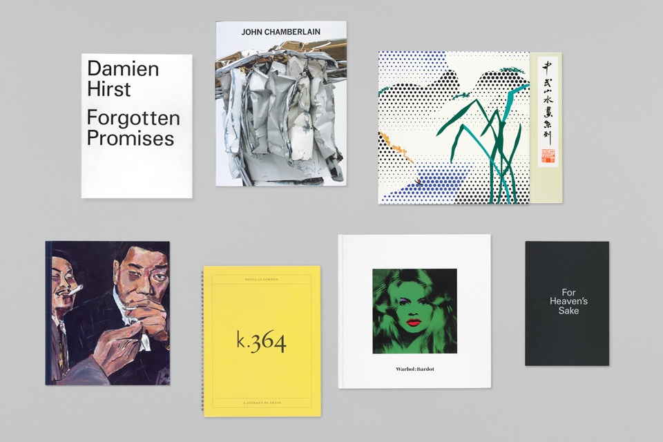 Gagosian Gallery – Catalogues 2012   Publication   Graphic Thought Facility