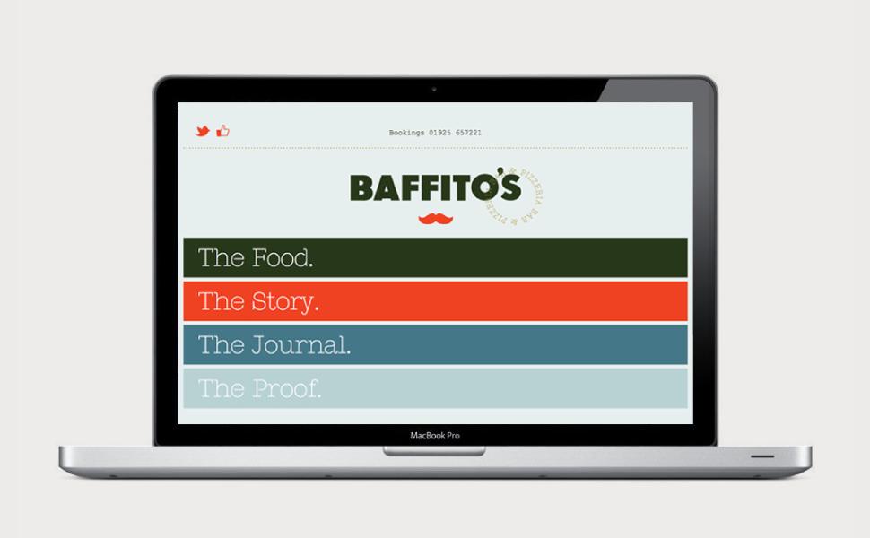 Baffito's Bar & Pizzeria — We are SB Studio. A Design & Brand Consultancy.