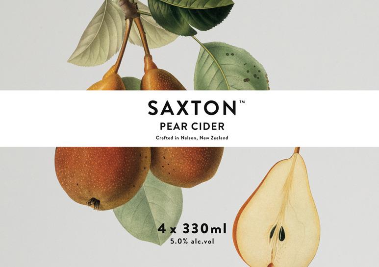 Bradley Rogerson Design Journal » Saxton Cider