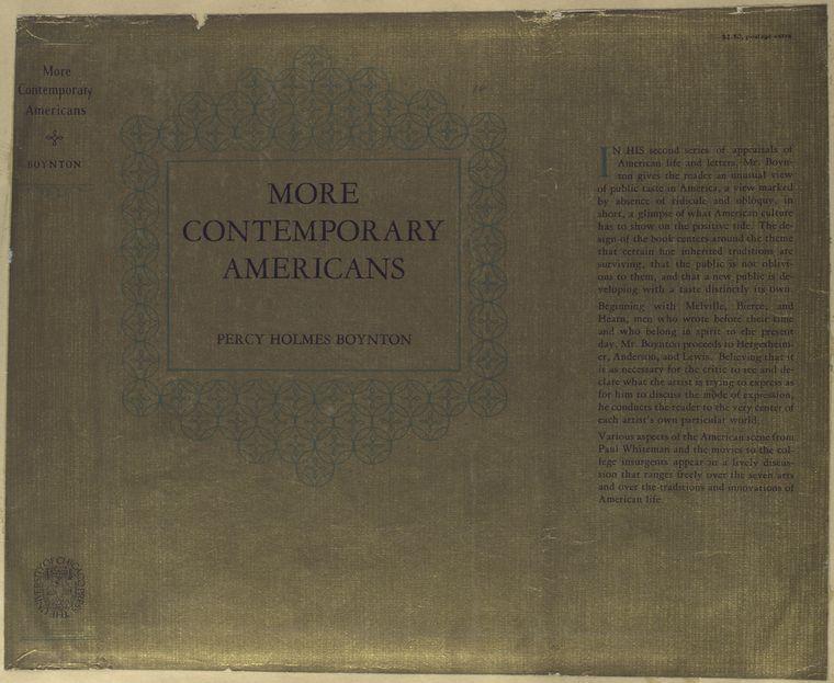 More contemporary Americans - ID: 489946 - NYPL Digital Gallery