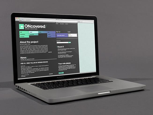 ONcovered | KERN - Visuele communicatie / Grafisch ontwerp