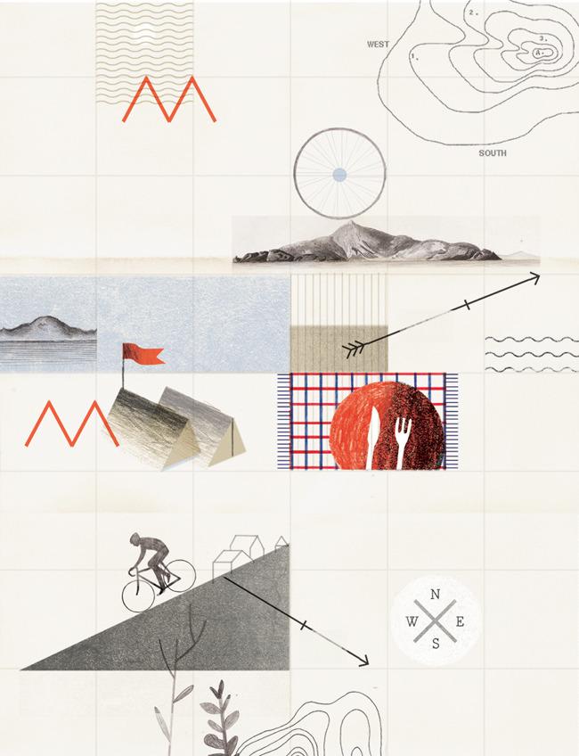 Editorial Illustrations - Luke Fenech / Design + Direction