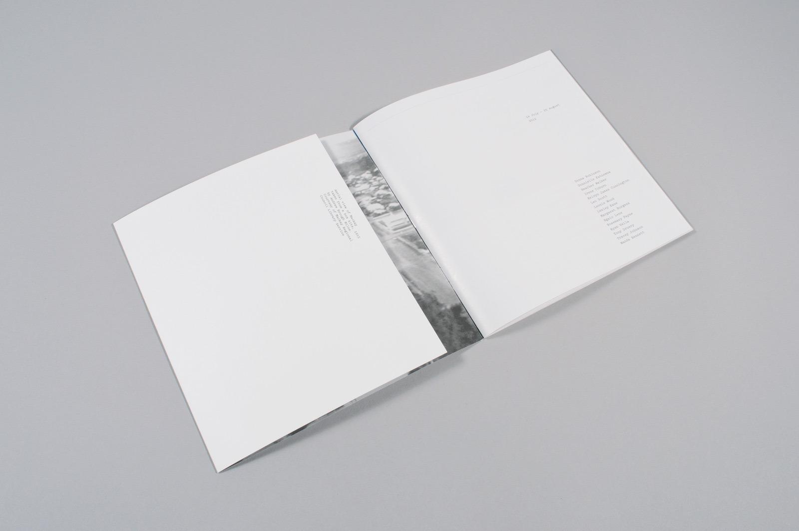The Letter D. / MAS / Artspace Mackay Catalogue