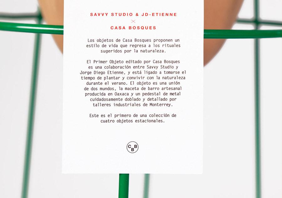 SAVVY STUDIO | Casa Bosques Planters