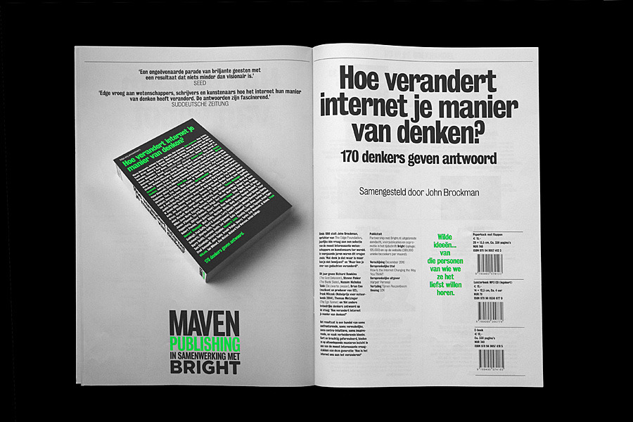 Matthijs 'Matt' van Leeuwen | Maven Publishing Fall 2010 Catalogue