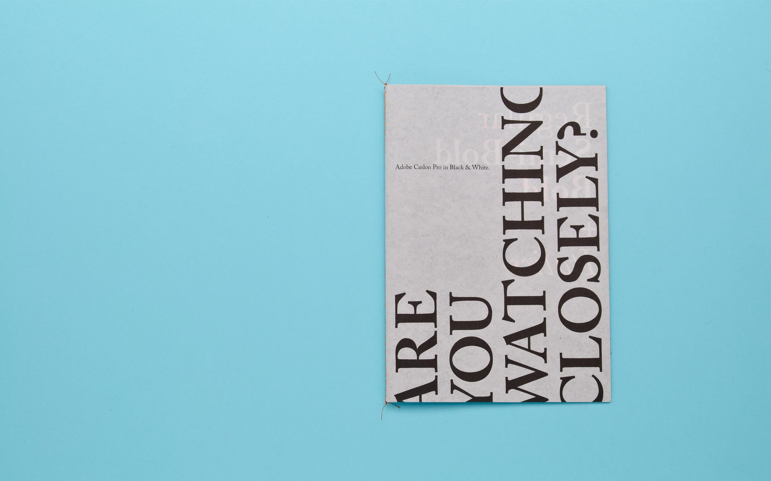 Adobe Caslon | Two Times Elliott. Creative Agency, Notting Hill. +44 (0) 203 214 3133