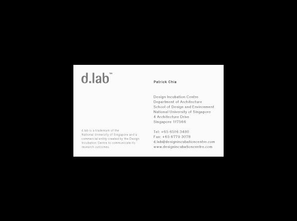 d.lab - Field Process
