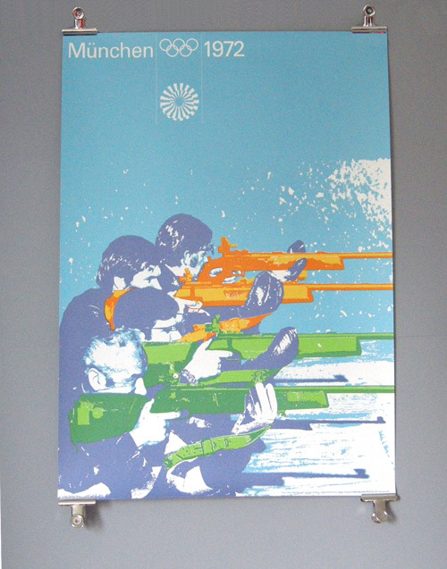 Otl Aicher 1972 Munich Olympics - Posters - Sports Series