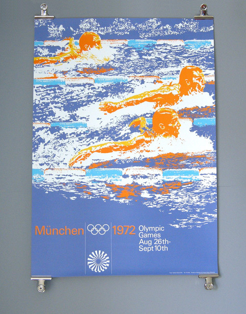 Otl Aicher 1972 Munich Olympics - Posters - Sports Series