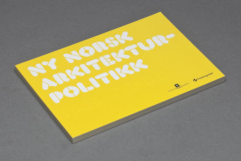 Ny Norsk Arkitekturpolitikk   Your Friends