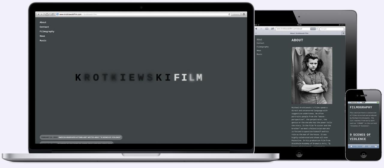 Krotkiewski Film — Edvard Scott
