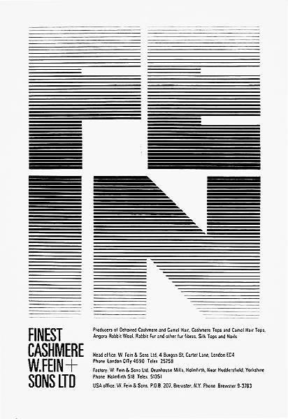 ken garland & associates:graphic design:w fein & sons