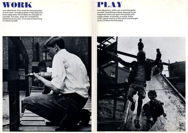 ken garland:graphic design:adventure playground