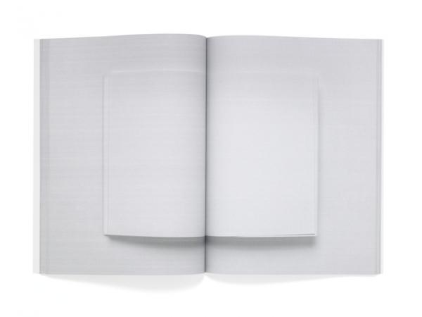 94 Blank Spreads : Daniel Eatock