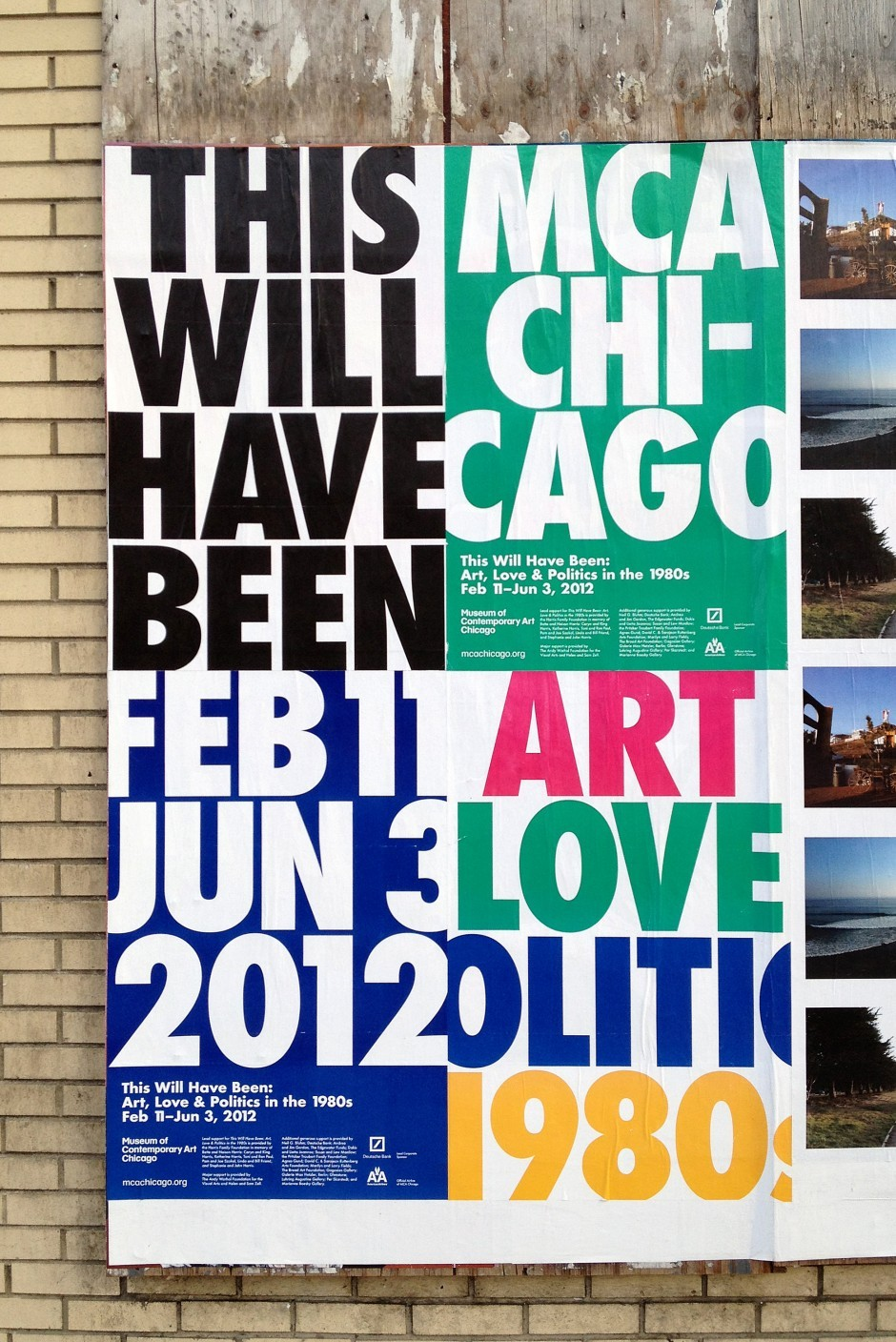 This Will Have Been: Art, Love & Politics in the 1980s Wild Postings   Scott Reinhard
