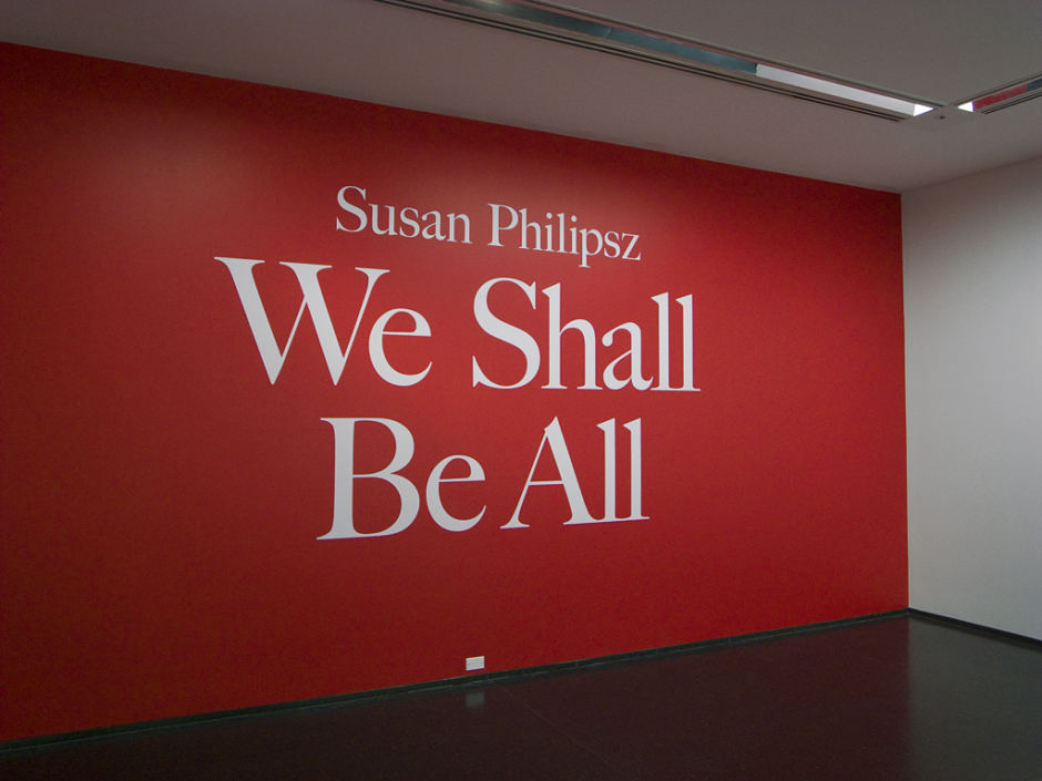 Susan Philipz title wall | Scott Reinhard