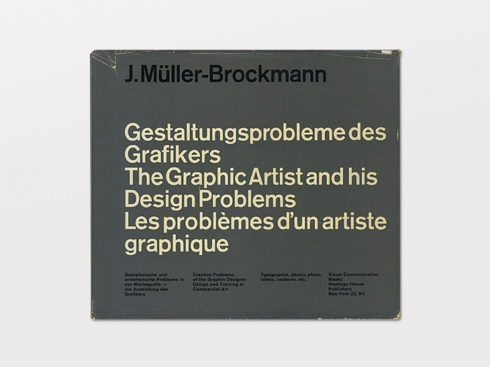Display | The Graphic Artist and his Design Problems | Modern and Rare Graphic Design Books