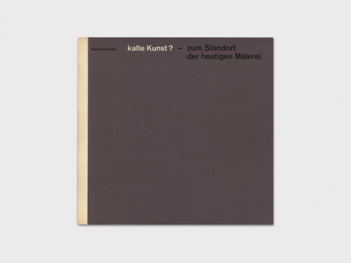 Display | kalte Kunst? | Modern and Rare Graphic Design Books