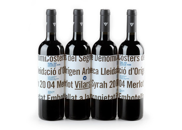 Vinya Els Vilars / Identitat i packaging Vinya Els Vilars / Packaging