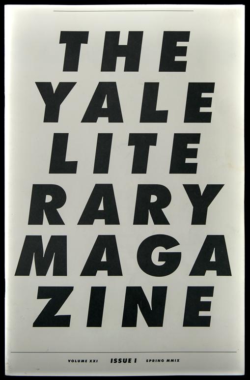 David Rudnick — The YaleLiterary Magazine