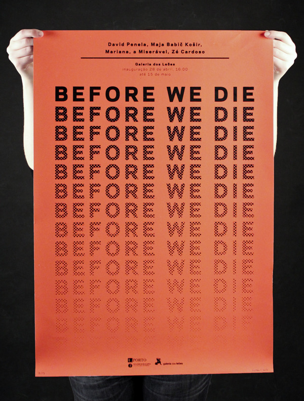Before we die | Márcia Novais