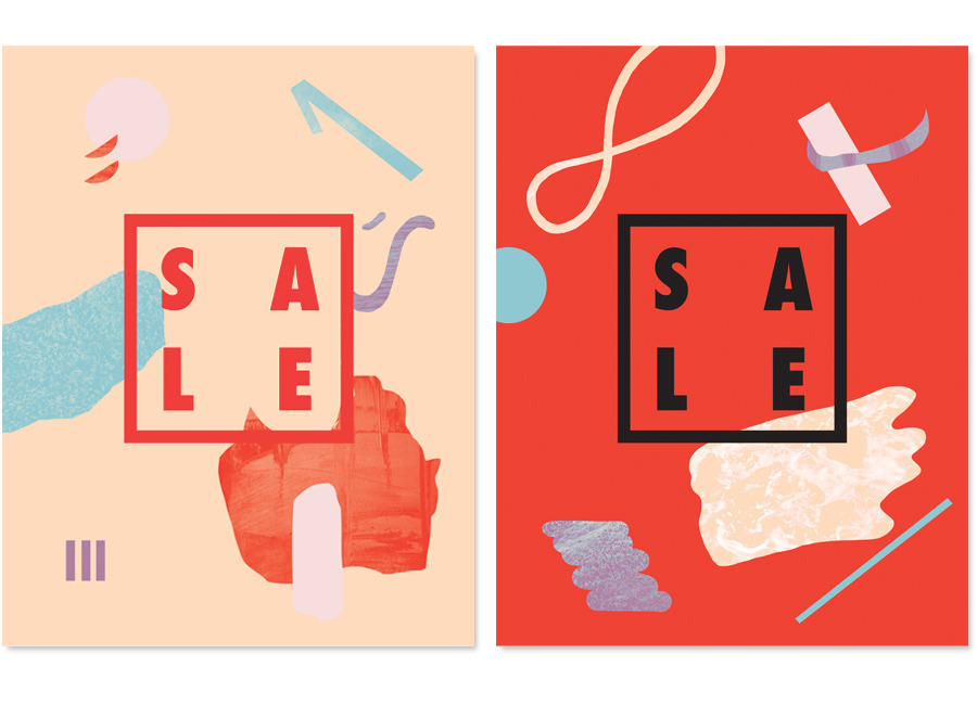 S/S SALE Branding - Maggie Chok—Graphic Design